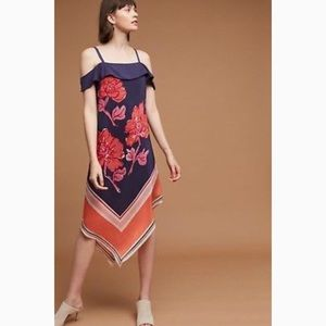 {Moulinette Soeurs} Anthropologie Tilda Silk Dress